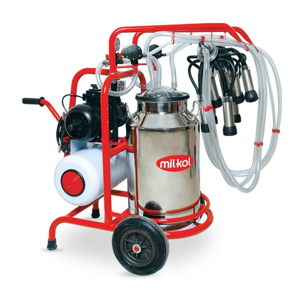 37152224 - Milkol Süt Sağım Makinesi Tek Güğüm Çift Sağım 40 LT - n11pro.com