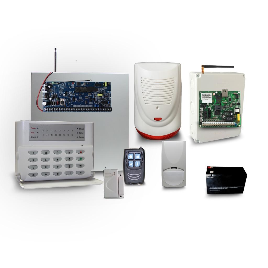 86593143 - Gold Güvenlik Sisetmleri GLD 3017 Kablosuz Alarm Sistemi - n11pro.com