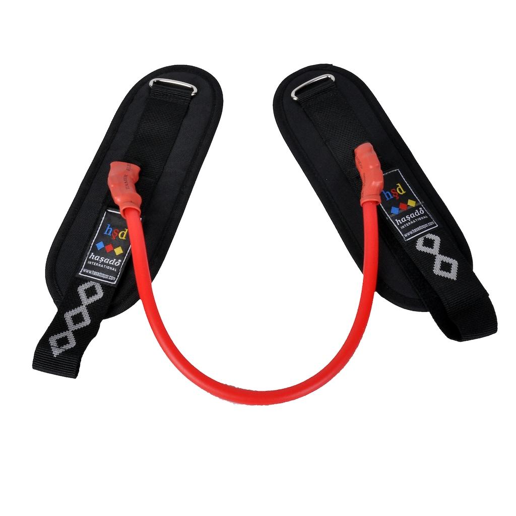 50131501 - Haşado Bacak Arası Kuvvet Direnç Lastiği Kırmızı-Siyah - n11pro.com