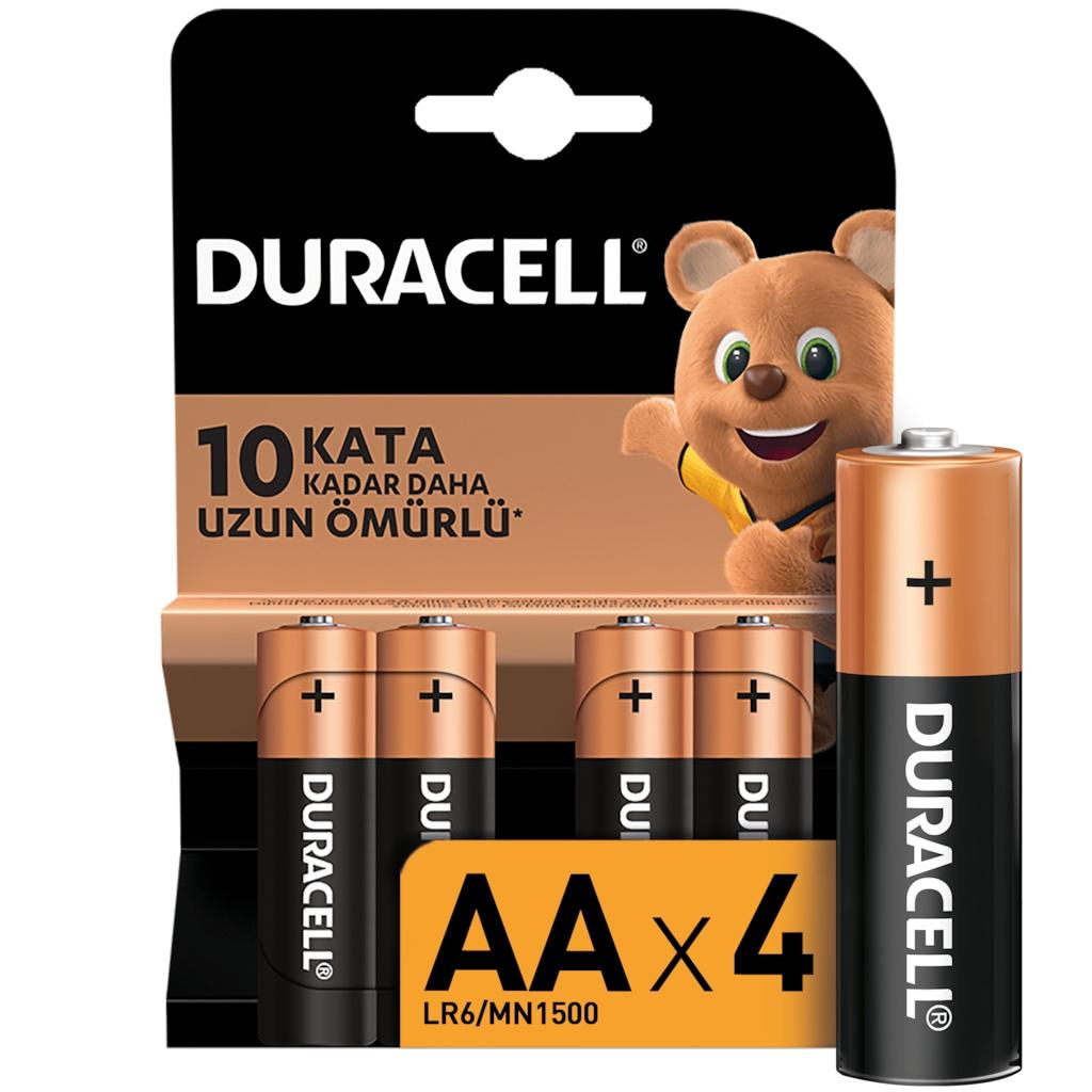 IMG-248919497272660425 - Duracell LR6/MN1500 AA Kalem Pil 4'lü - n11pro.com
