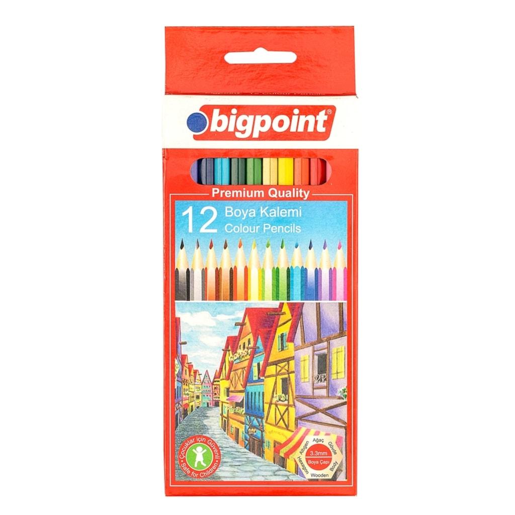 Bigpoint Bp94012 Kuru Boya Kalemi 12 Renk N11pro Com
