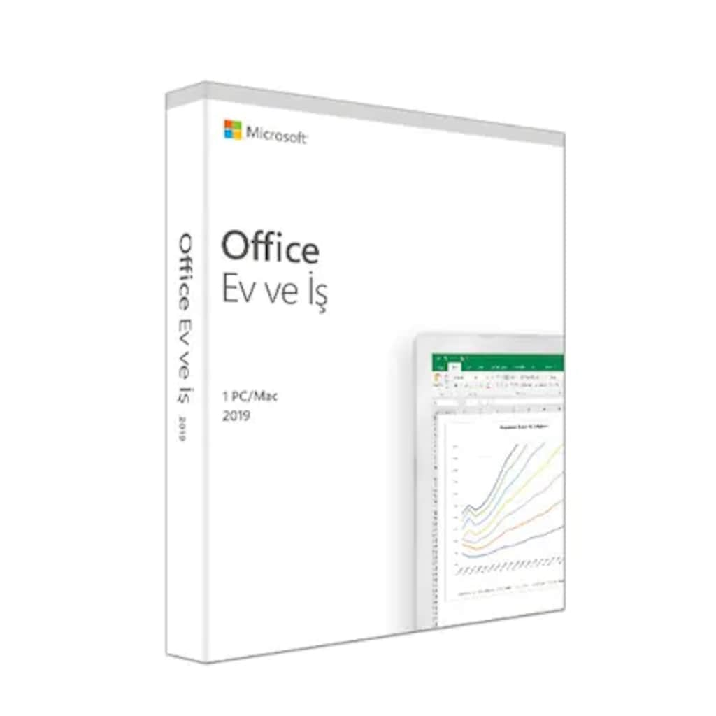 39576193 - MS Office 2019 Ev ve İş Türkçe Kutu T5D-03258 (Orjinal Lisanslı) - n11pro.com