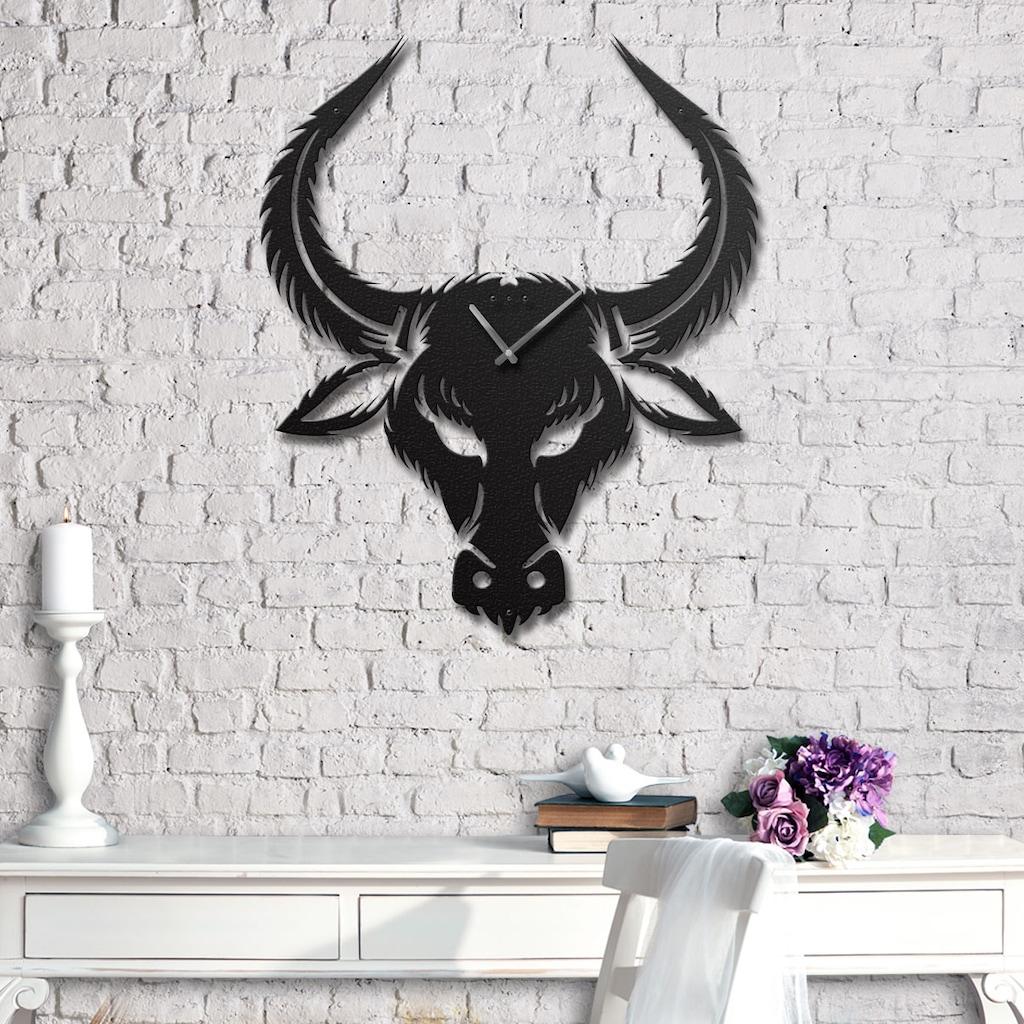 91522956 - Messken Metal Duvar Saati Şık ve Özgün Tasarım Siyah T37 - n11pro.com