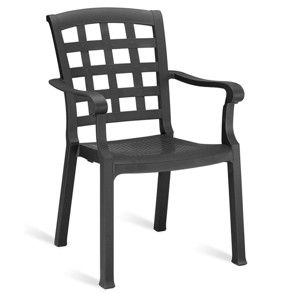 papatya pasha plastik sandalye 2 adet - n11