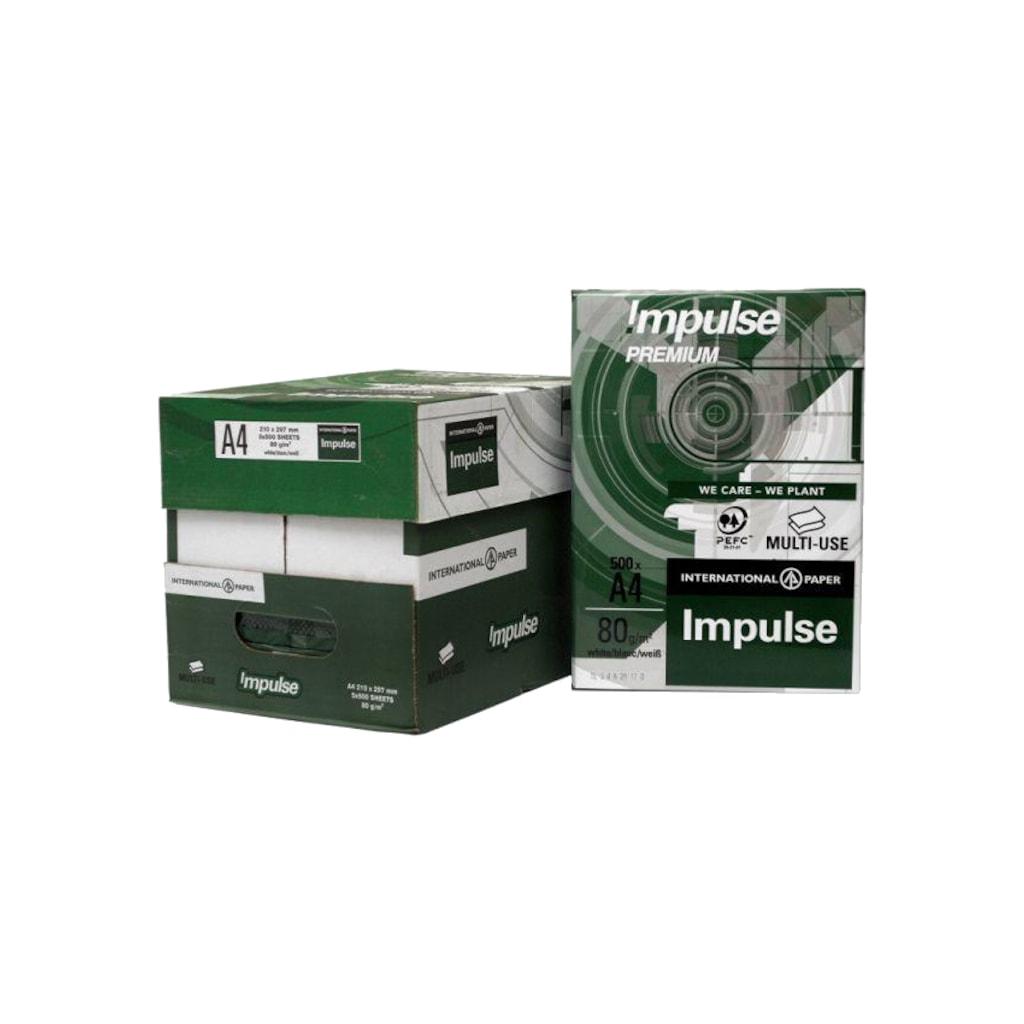 77327469 - Impulse A4 Premium 80 Gram Fotokopi Kağıdı 5'li Paket - n11pro.com
