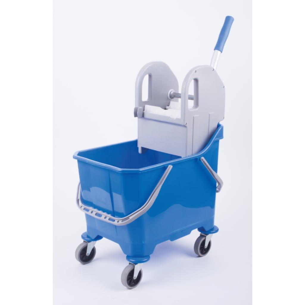 87692526 - Ermop PRSTKV-01 Tek Bölmeli Presli Kova Plastik Mavi 15 L - n11pro.com