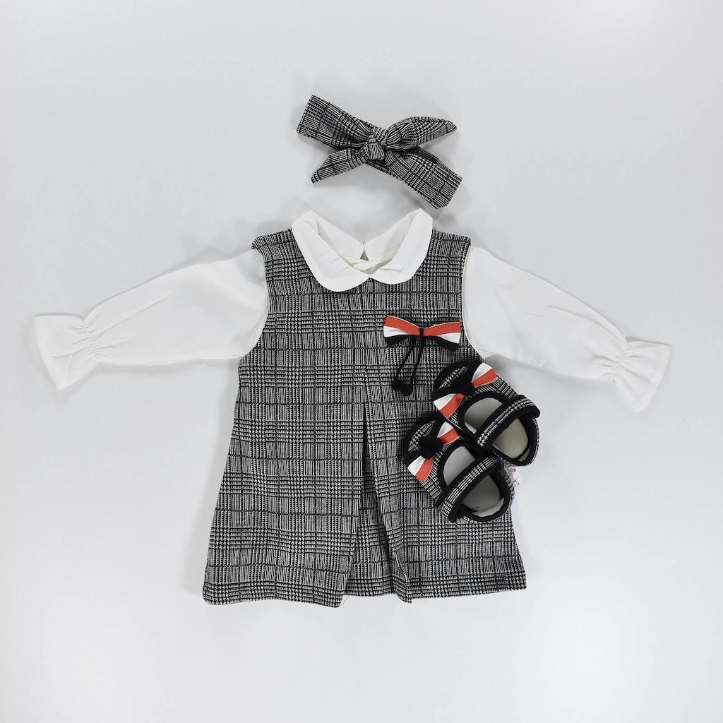 Fiyonklu Ayakkabili Kiz Bebek Elbisesi Yenidogan 18 Ay Fiyatlari