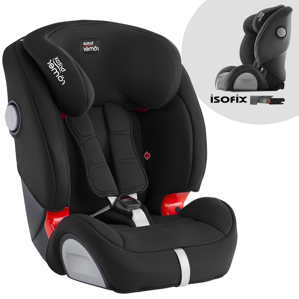 britax r mer evolva 1 2 3 sl sict 9 36 kg isofix oto. Black Bedroom Furniture Sets. Home Design Ideas