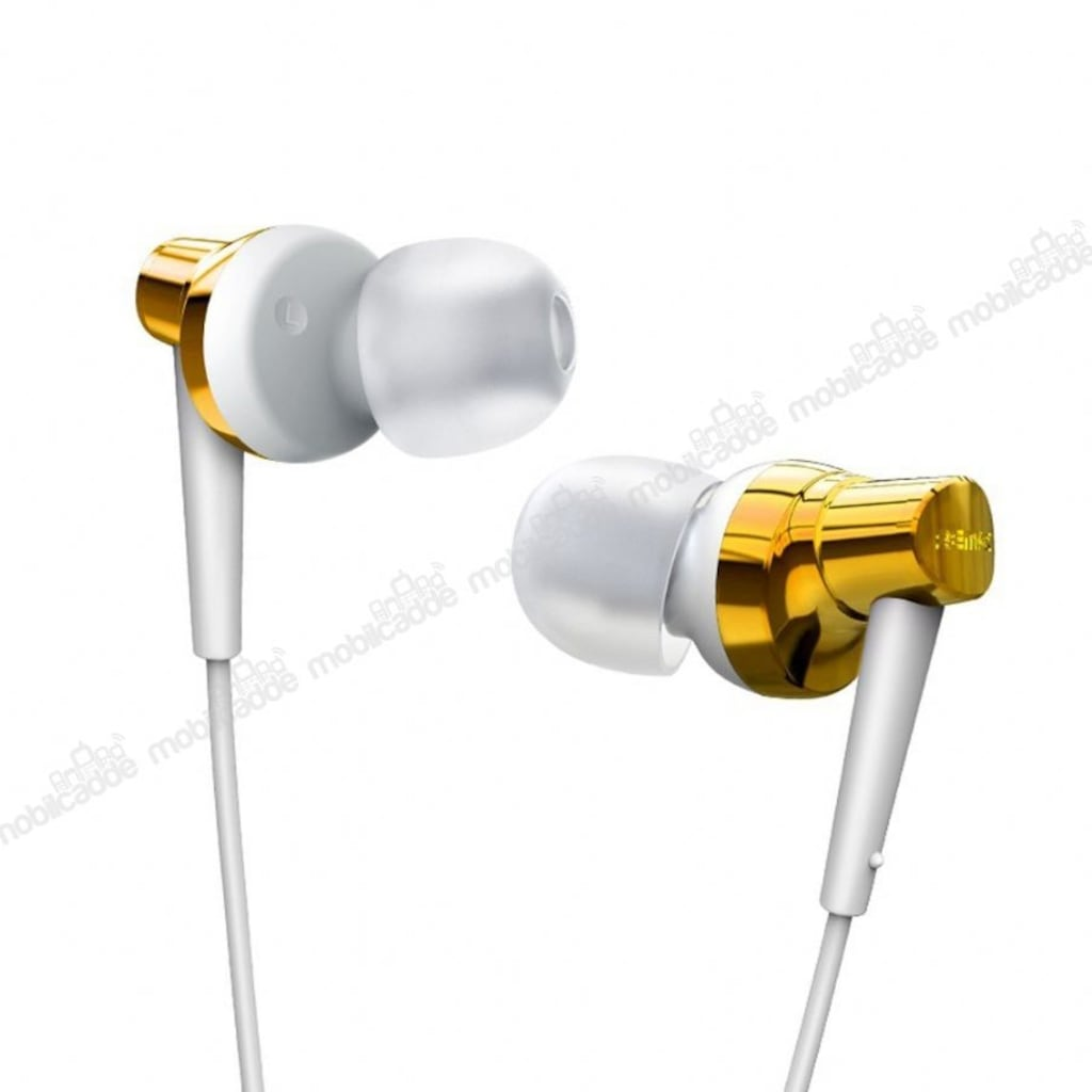 Remax Rm 575 Mikrofonlu Kulakii Gold Kulaklk N11com Nokia Asha 310 Dual Sim Resmi White