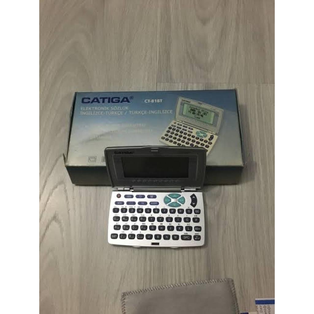 CATIGA CT-818T İNGİLİZCE & TÜRKCE ELEKTRONİK SÖZLÜK Fiyatları ve Özellikleri