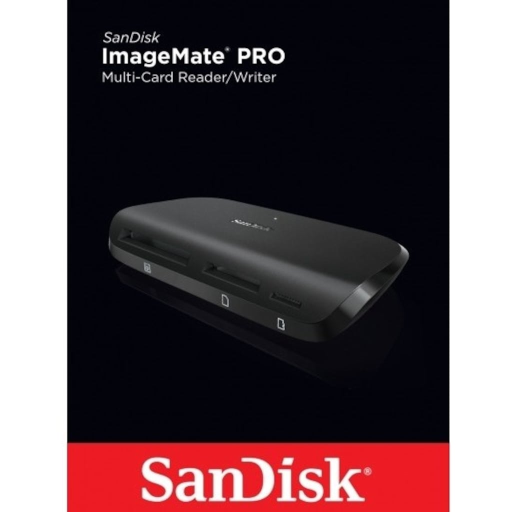 Sandisk ImageMate Pro Multi-Card Reader/Writer USB 3.0 ...