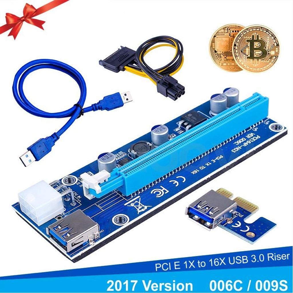 Sl Ex116 Pc 1x To 16x Usb 30 Riser Ekran Kart Uzatma Bitcoin Pci