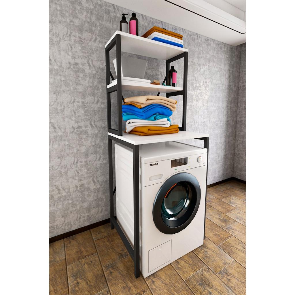 Çamaşır Makinesi Üstü Düzenleyici Raf Banyo Dolabı Makina Üstü Fiyatları ve  Özellikleri