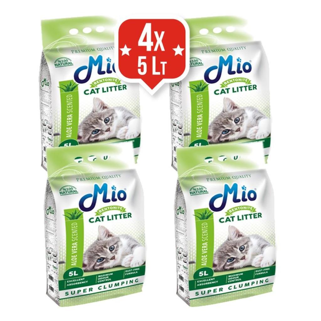 Mio Tozsuz Bentonit Kedi Kumu 4x5 lt Kampanya Fiyatları ve..
