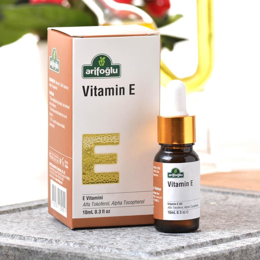 Cilt ve Saç Bakımında E Vitamini Desteği