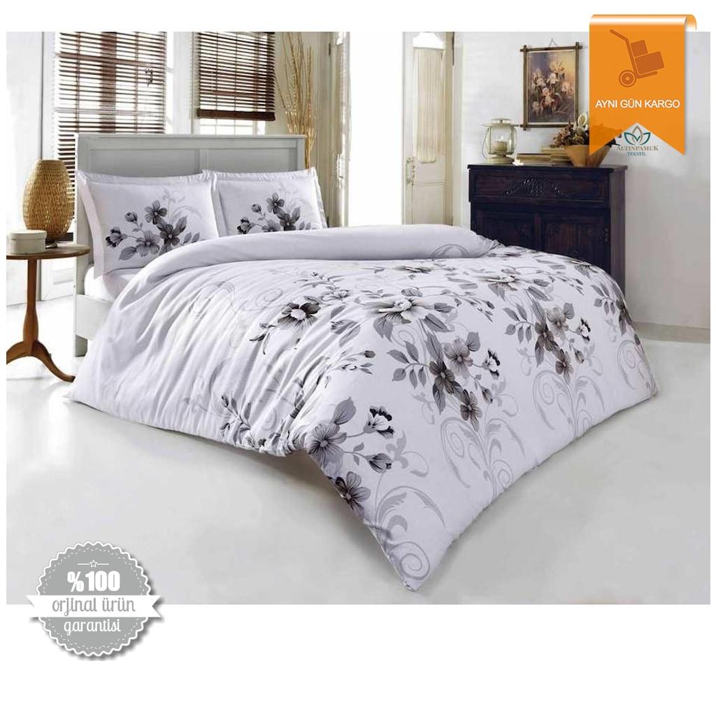 Beyaz Saten Taç Uyku Setleri