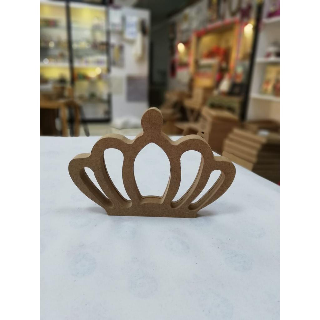 Kral Taci Ahsap Obje Ahsap Dekoratif Boyama Urunu N11 Com