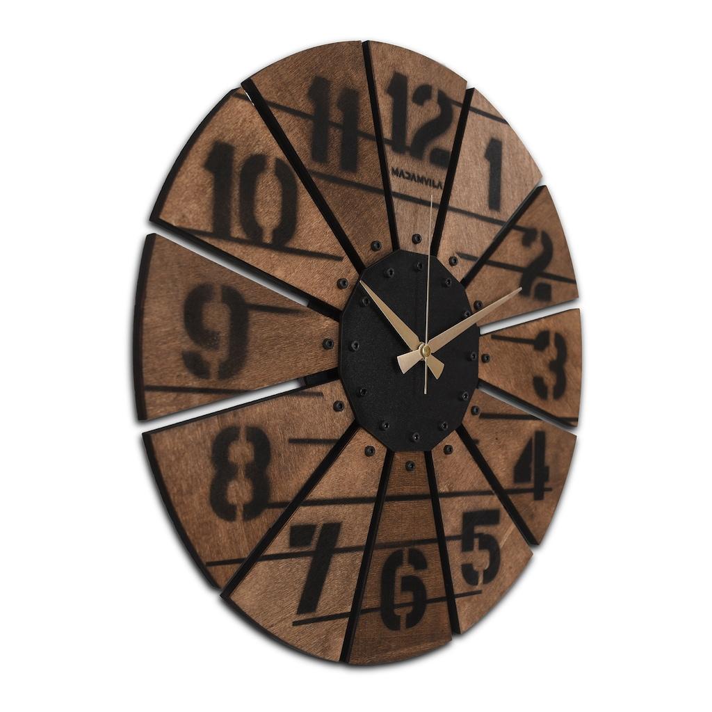 Duvar Saati Kullanıcılarına Kullanım Kolaylığı Sunuyor