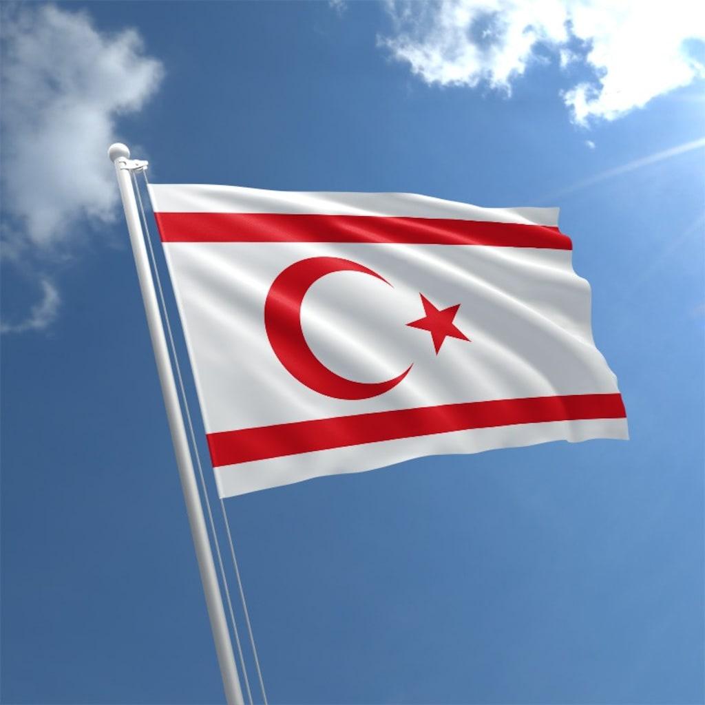 Kuzey Kıbrıs Türk Cumhuriyeti KKTC Bayrağı - Ülke Bayrakları Fiyatları ve  Özellikleri