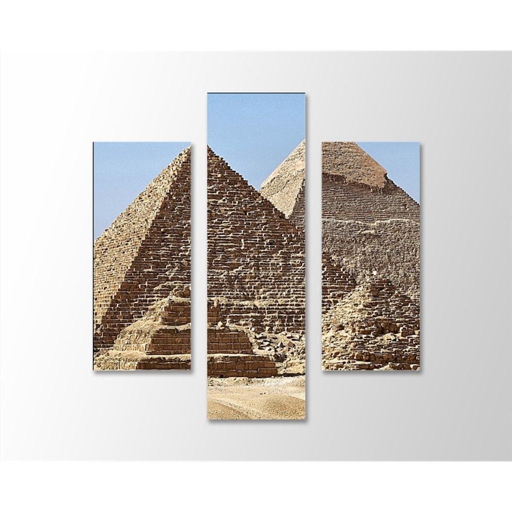 Mısır Piramitleri Kanvas Tablo N11com
