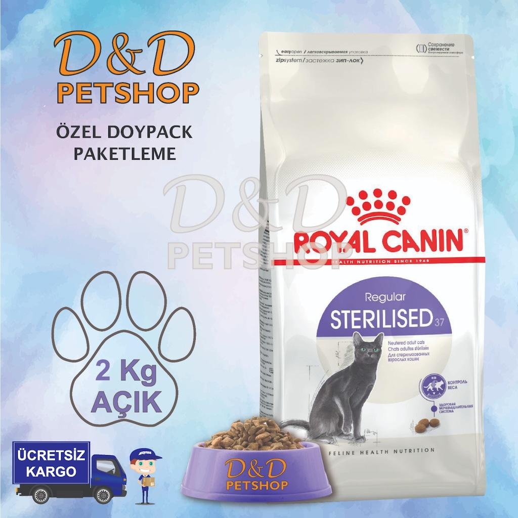 royal canin sterilised 37 k s r kedi mamas 2 kg a k. Black Bedroom Furniture Sets. Home Design Ideas