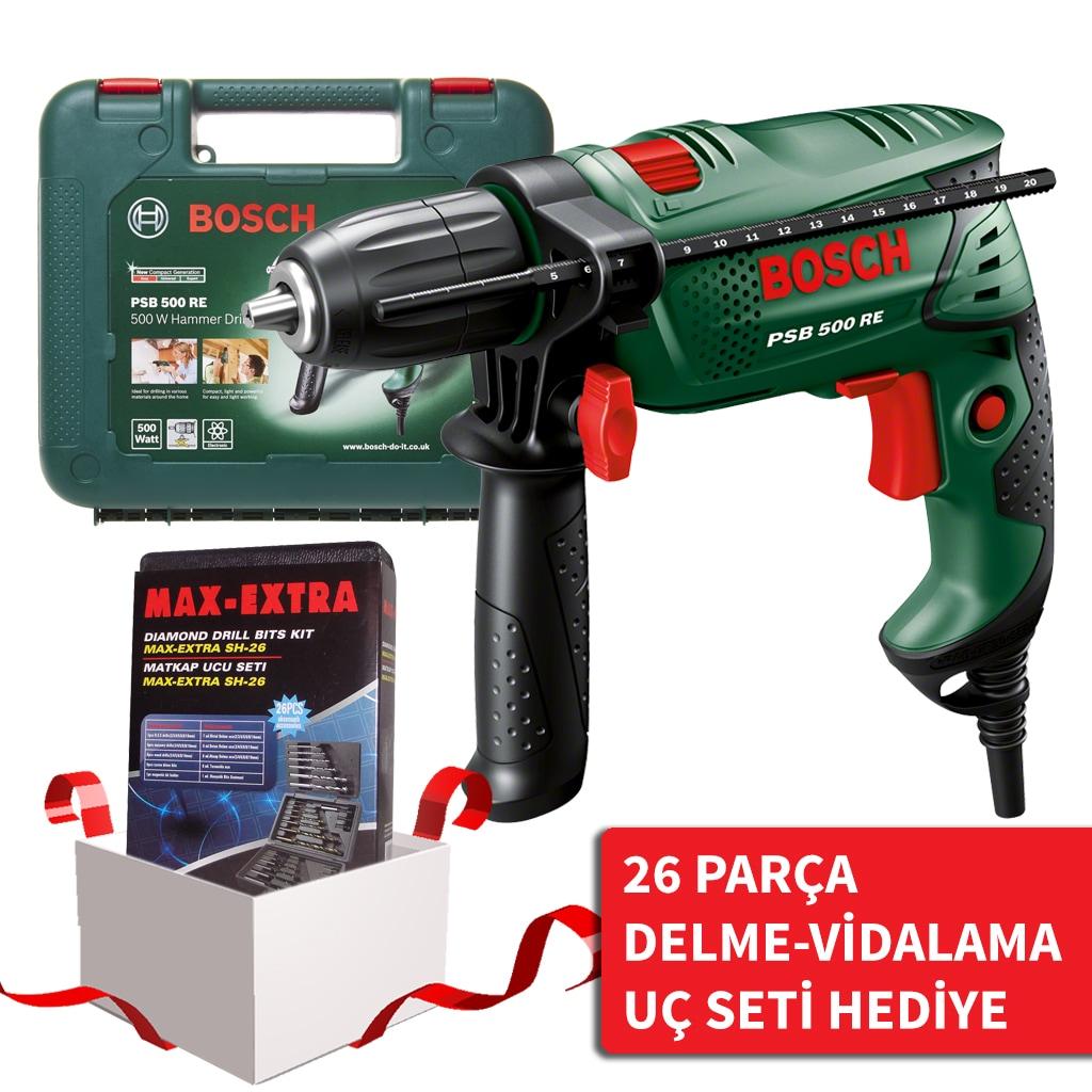 bosch psb 500 re easy darbeli matkap Çantalı 500w - n11