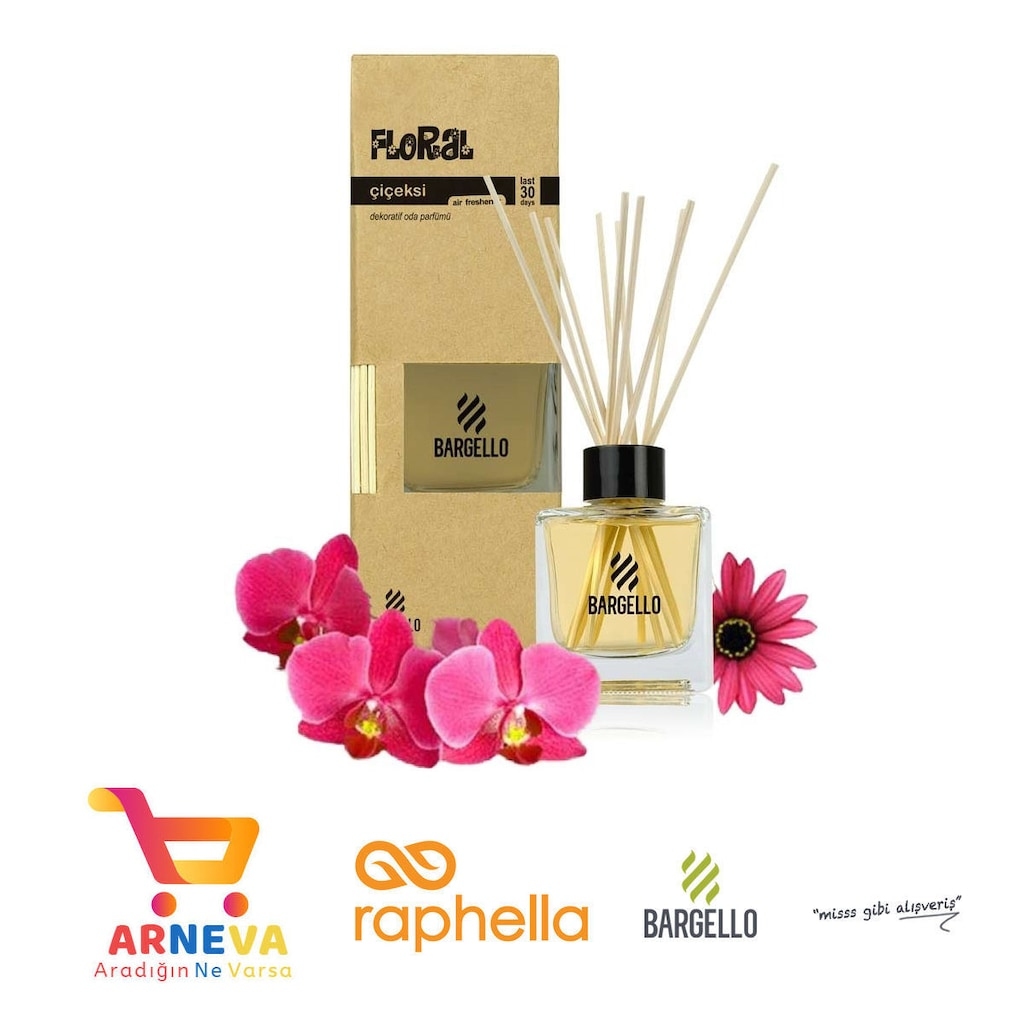 Bargello 120 Ml Bambu çiçek Oda Oto Dekoratif Ortam Parfümü N11com