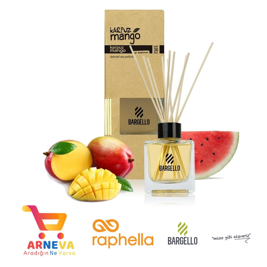 Bargello 120 Ml Bambu Karpuzmango Oda Oto Dekoratif Ortam Parfüm