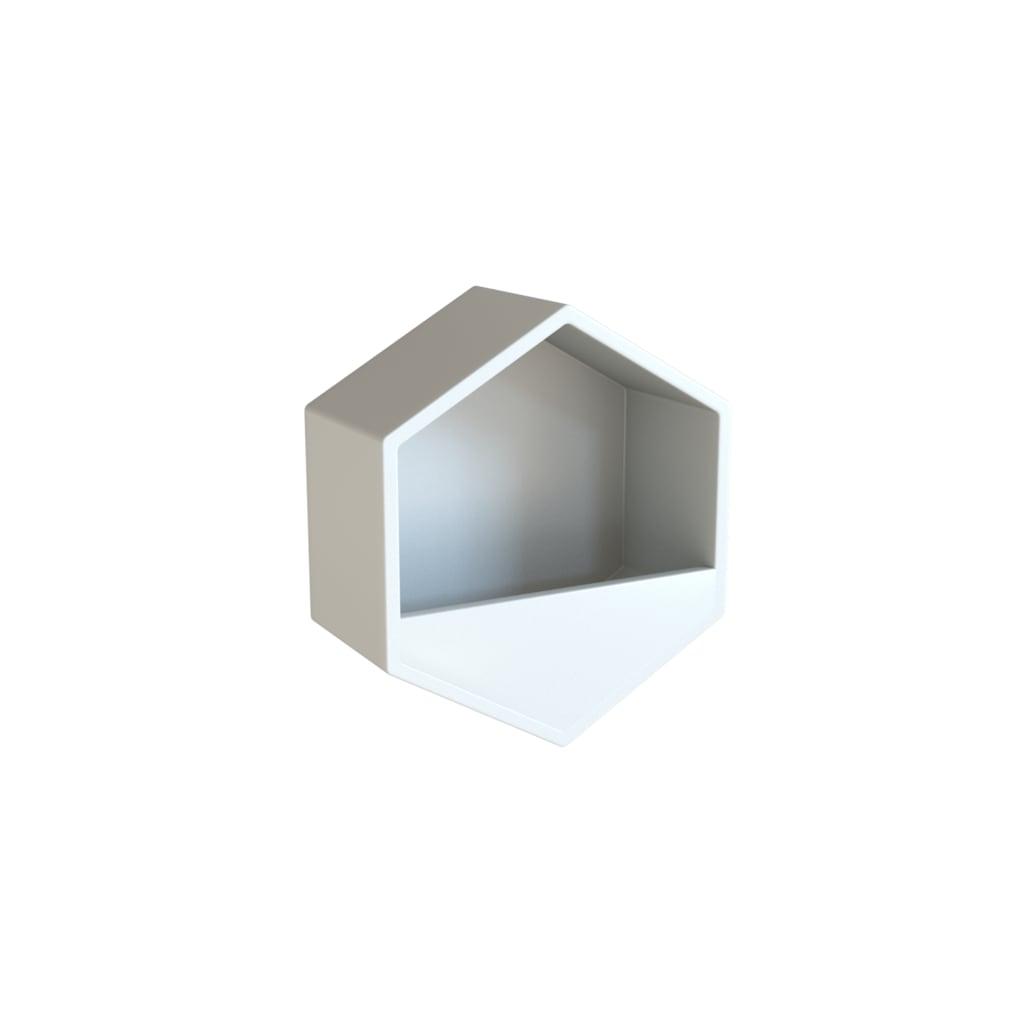 özel Tasarım Dekoratif Fiber 6gen Duvar Saksı N11com