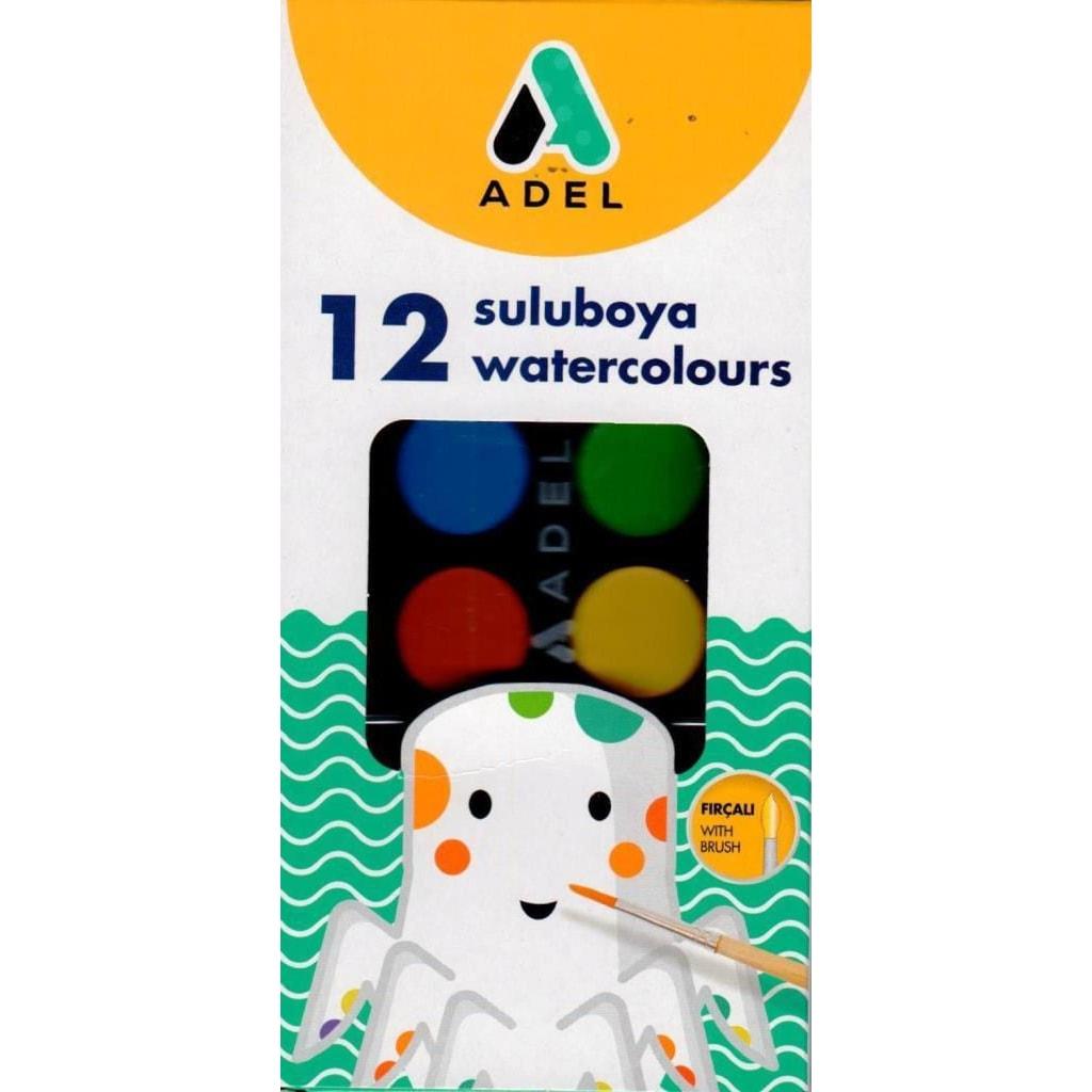 Adel Sulu Boya 12 Renk N11com