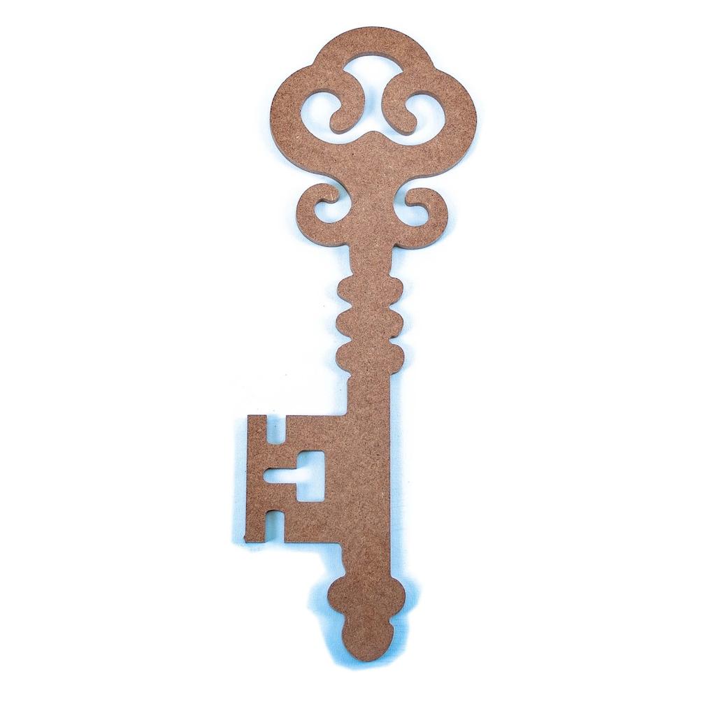 Ahşap Hobi Boyama Anahtar Model 3 Küçük Boy 13x27cm N11com