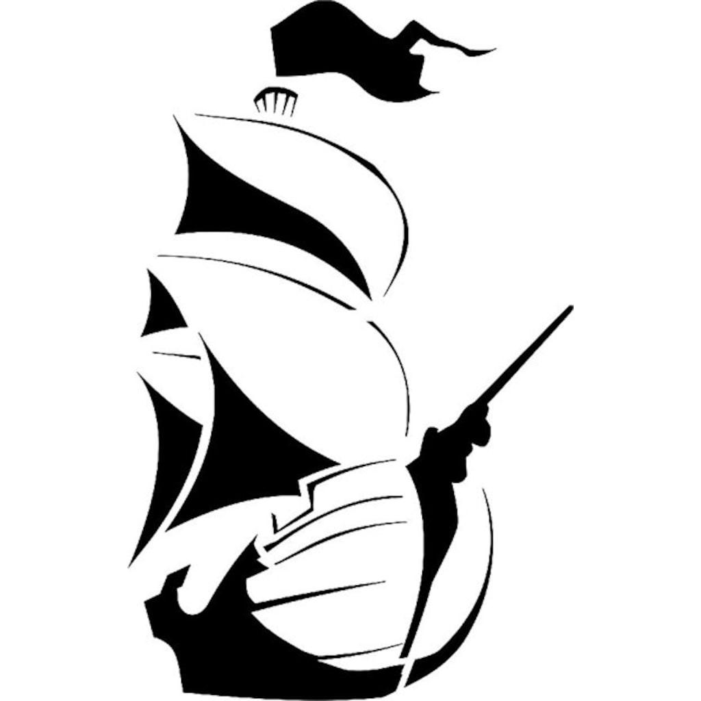 Yelkenli Gemi Stencil Boyama şablonu N11com