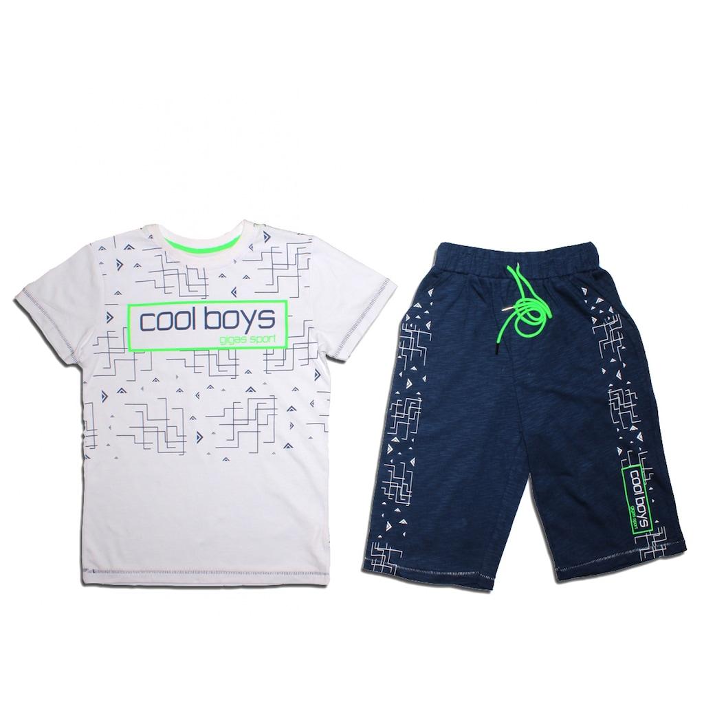 3b8537deadf87 Beyaz Cool Boys Baskılı Şortlu Takım 9-10-11-12 Yaş - n11.com