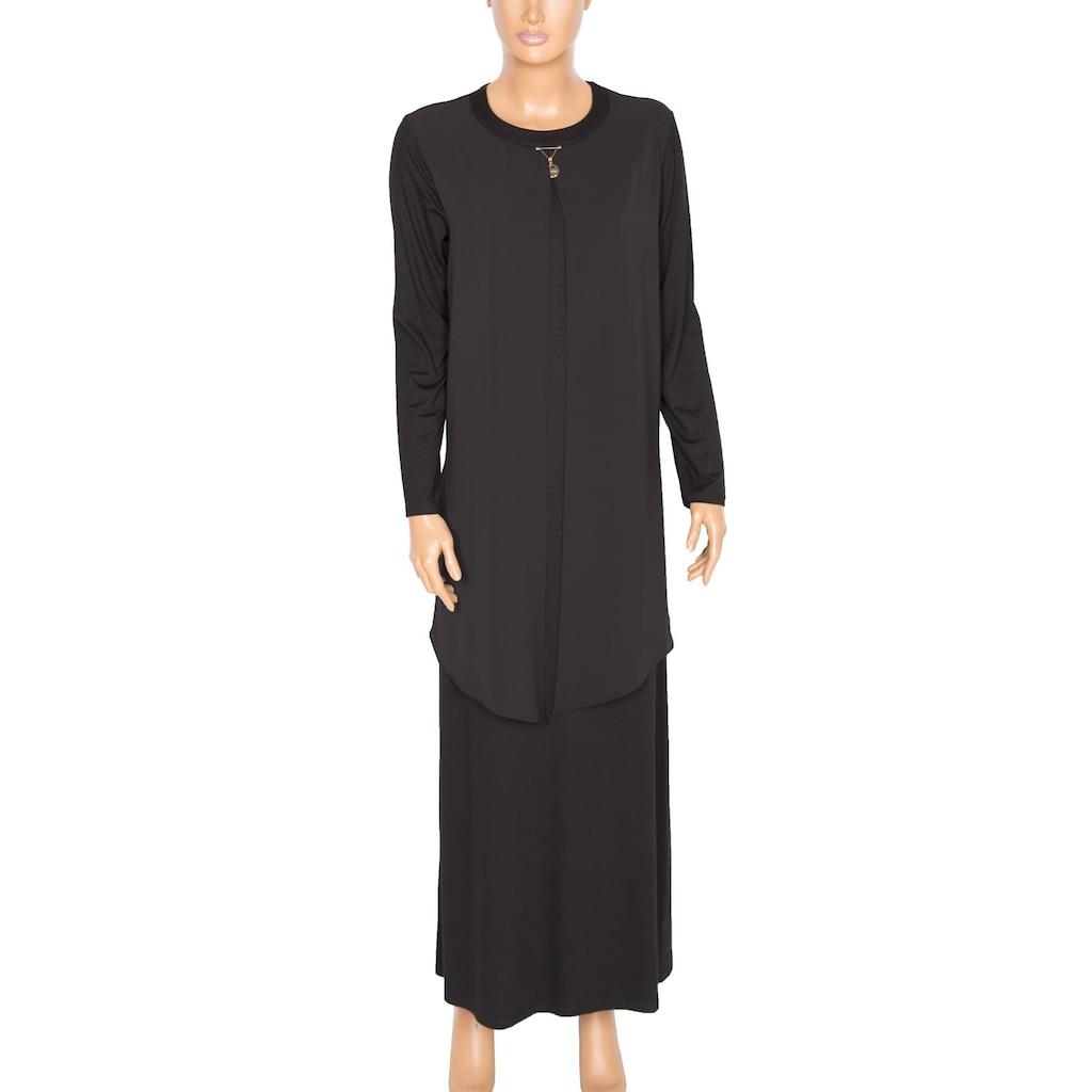 Farklı Tasarımlı Modelleri İle Tesettür Giyim Elbise Modelleri
