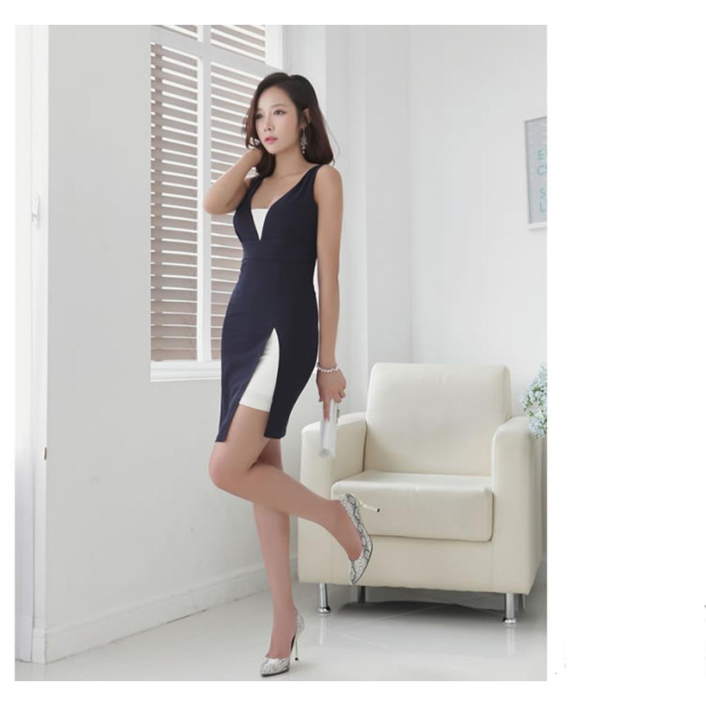 Beyaz mini günlük elbise