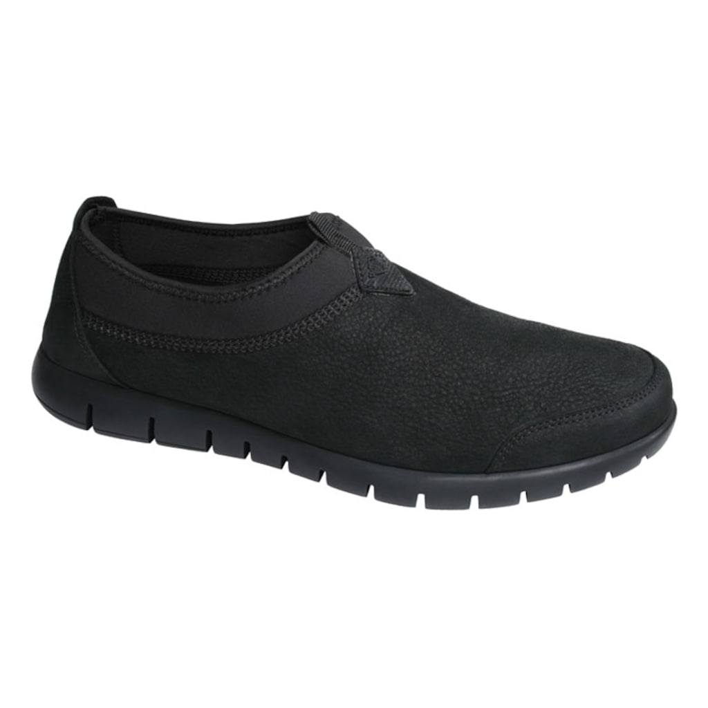 M5149NS Nubuk Deri Siyah Erkek Ayakkabı