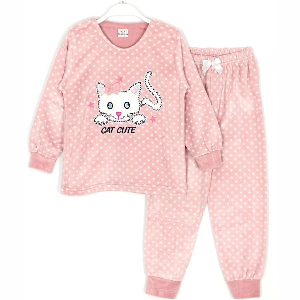 Baskılı Tasarımı ile Kız Çocuk Pijama ve Gecelikler