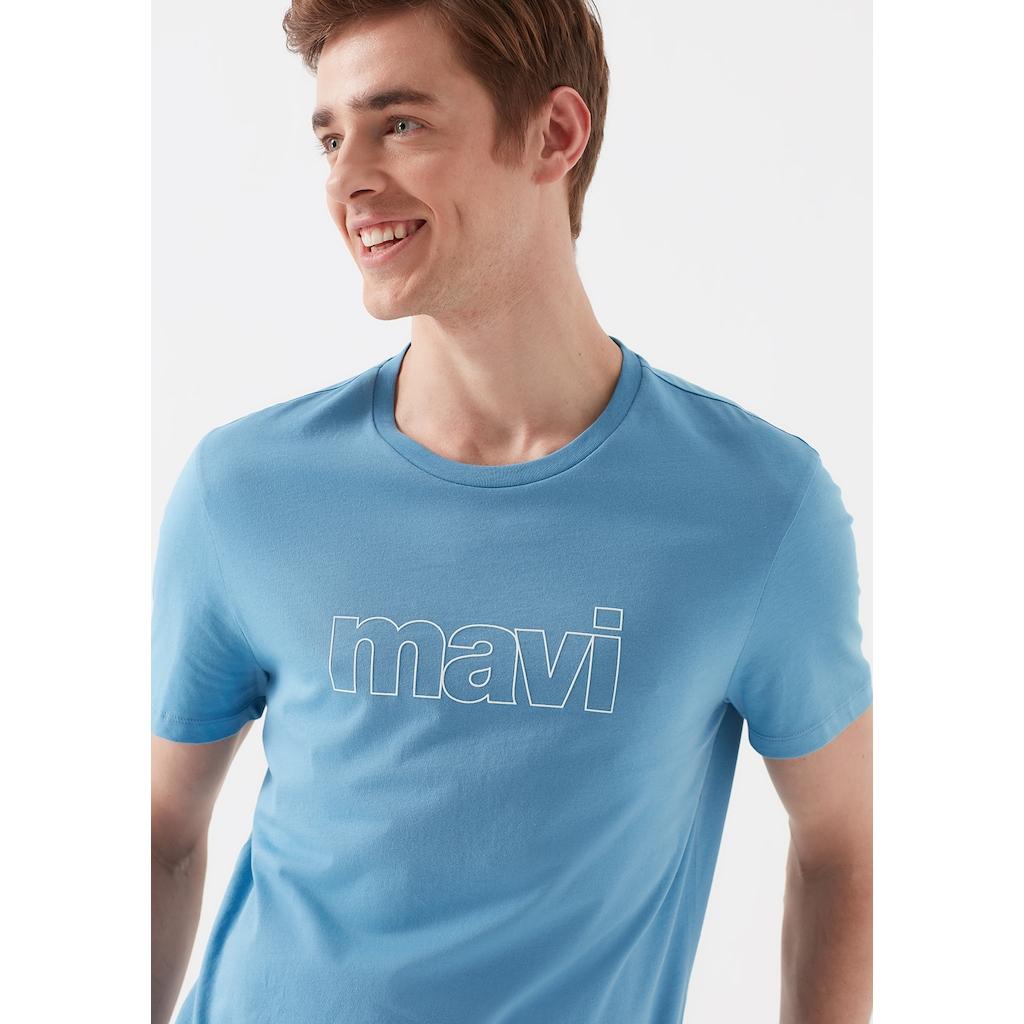 Mavi Erkek Tişört Modelleri ile Bakışları Üzerinizde Hissedin