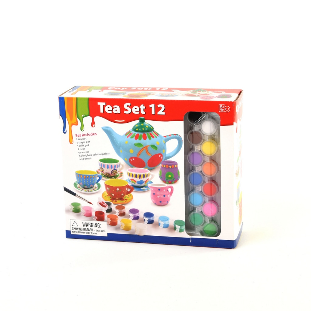Seramik Boyama Oyunu çay Seti N11com