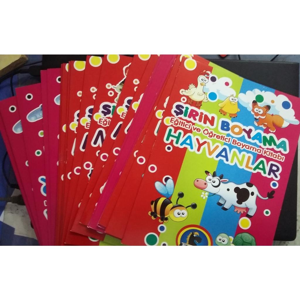 Boyama Kitaplari 16 Sayfa Resim Boyamalari N11 Com