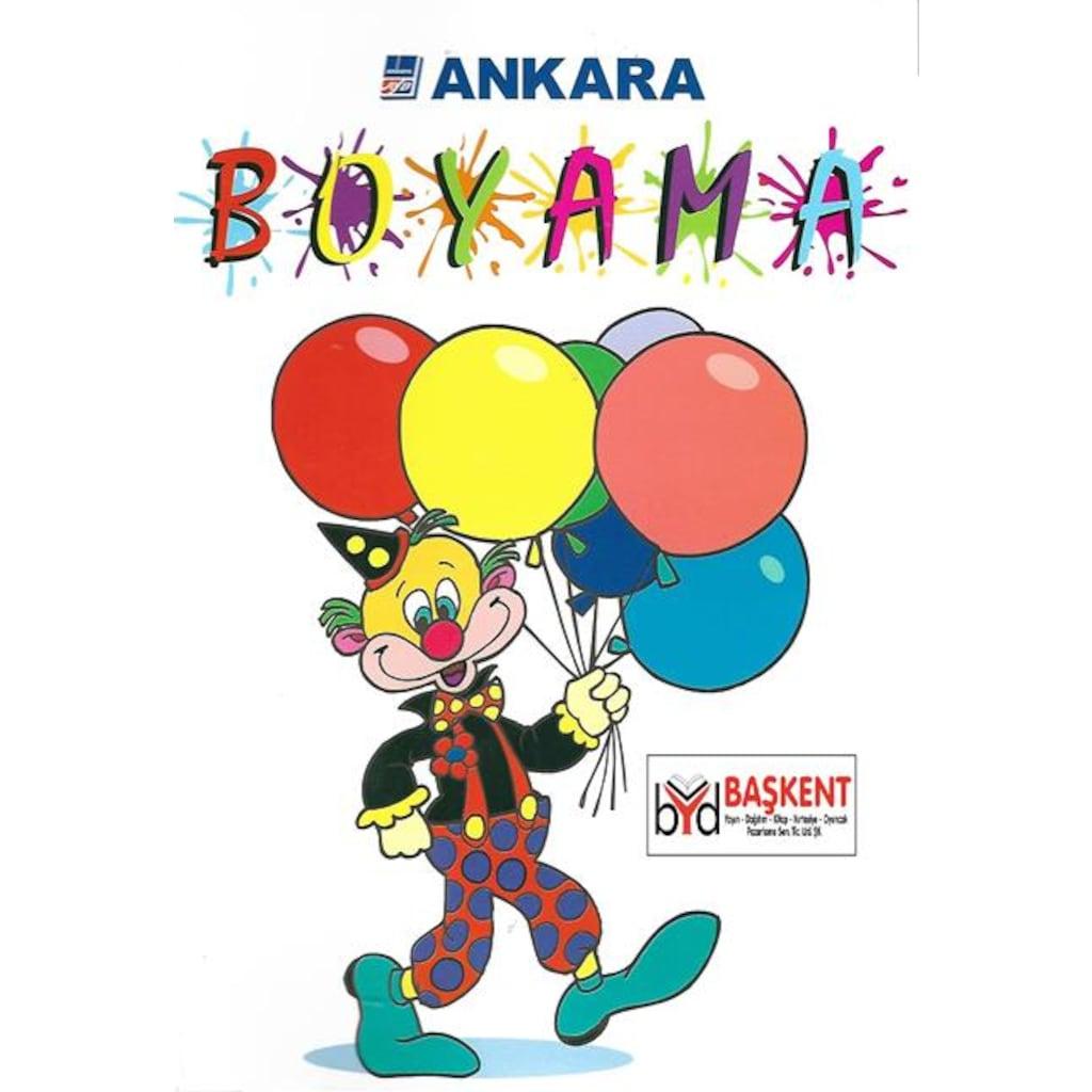 Boyama Kitabi Palyaco Ankara Yildirim Yayinlari N11 Com
