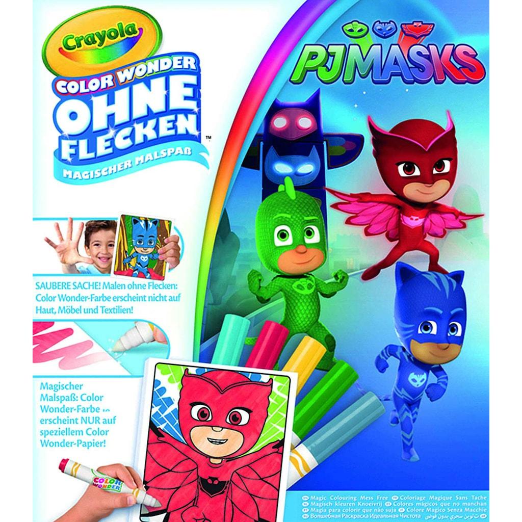 Crayola Color Wonder Lekesiz Boyama Kitabi Pijamaskeliler Pj Mask