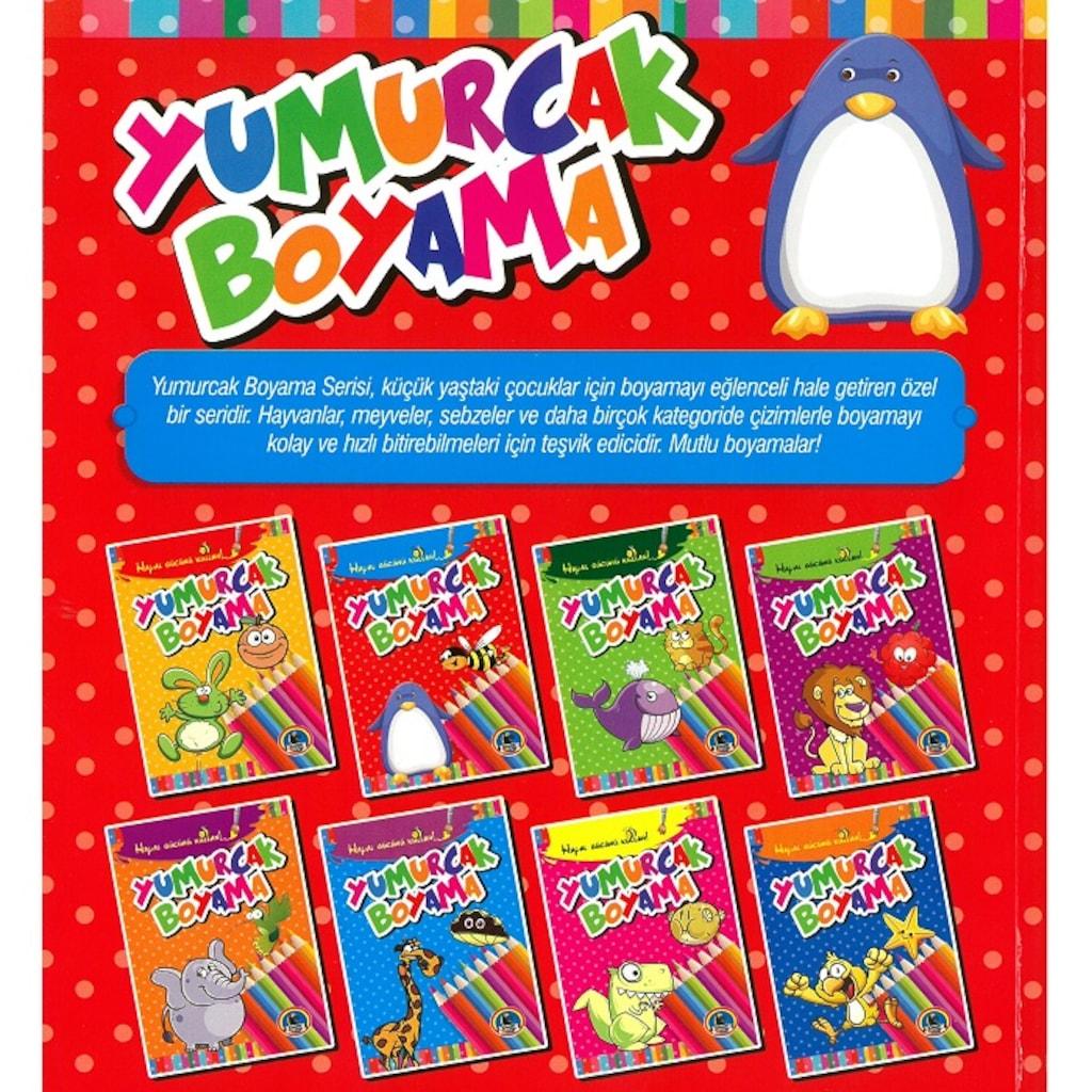 Karatay Yumurcak Boyama Kitabı Kalın 1 Adet N11com