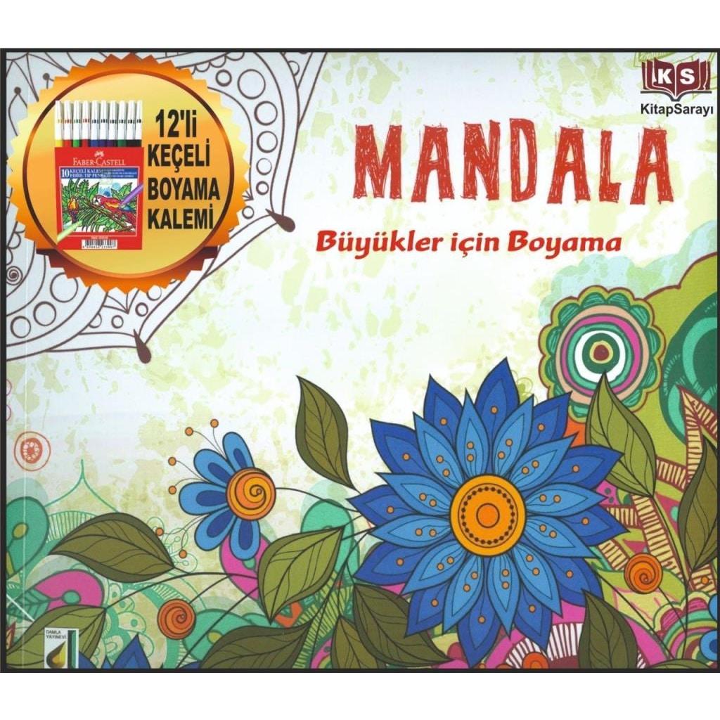 Mandala Yetişkinler Için Boyama Kitabı Damla Yayınları N11com