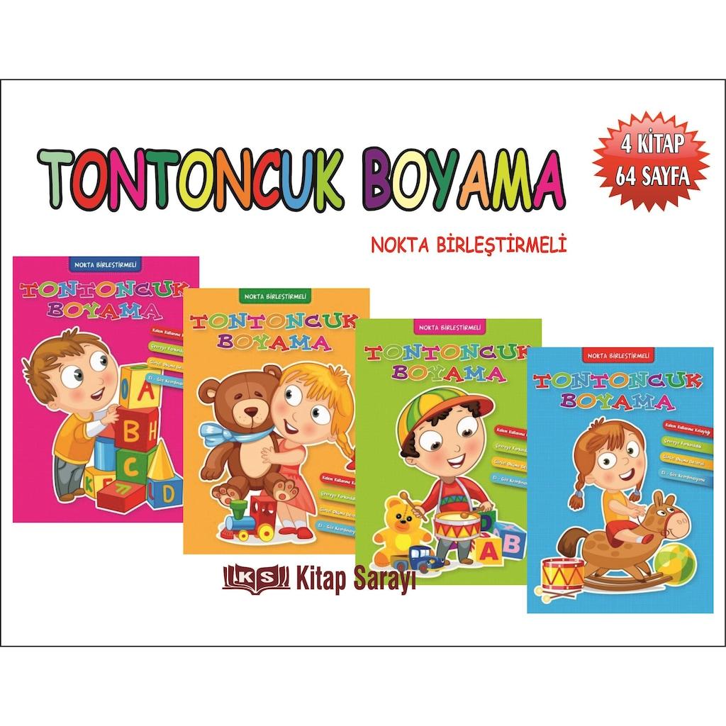 Tontoncuk Boyama 4 Kitap Set Ema Yayinlari N11 Com