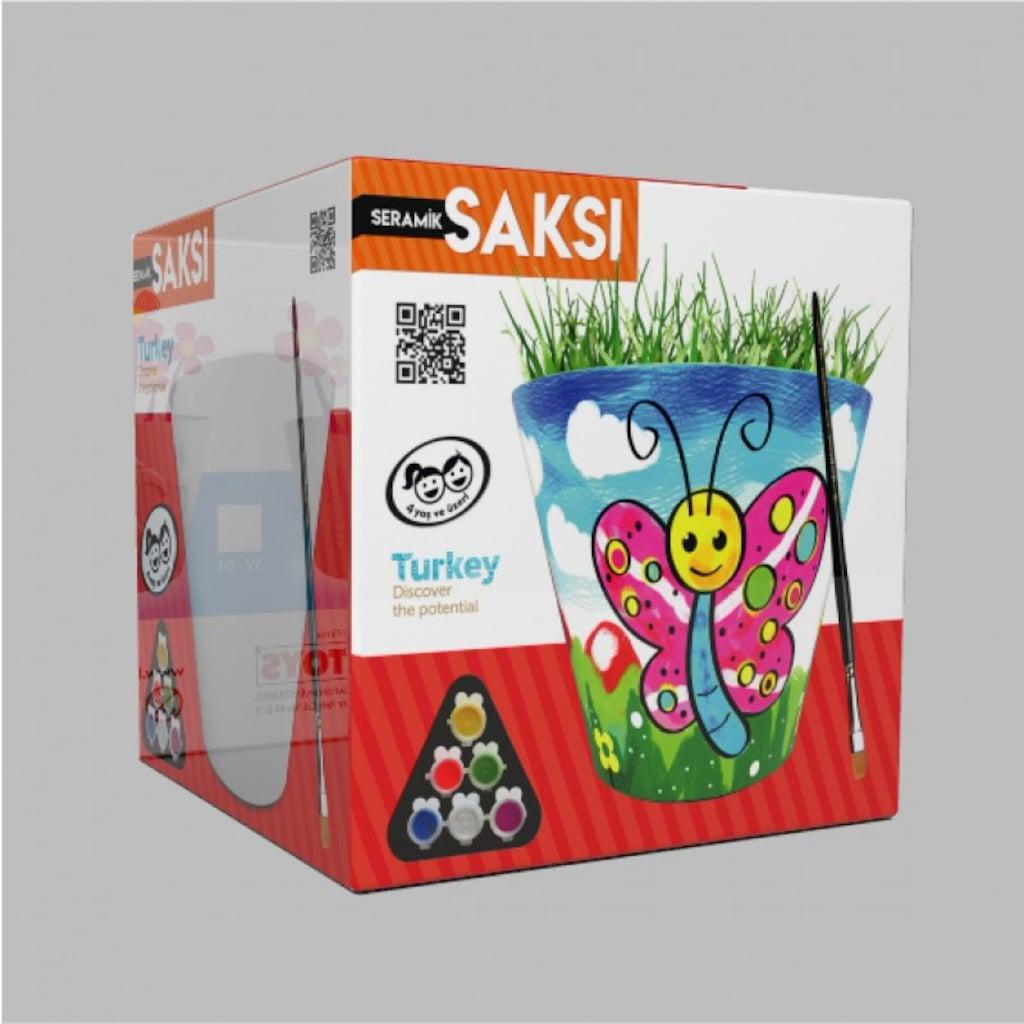 Seramik Saksi Boyama Kum Toys N11 Com