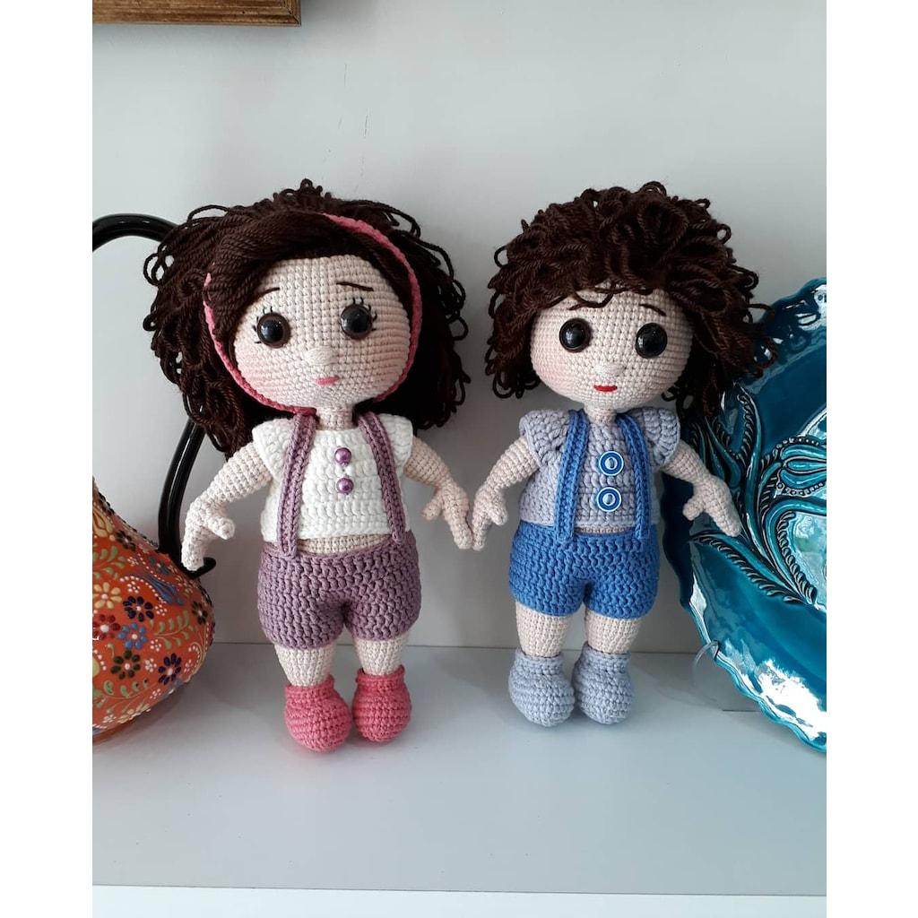 TonTon Doll and Tilda Bunny Free English Pattern   Crochet dolls ...   1024x1024