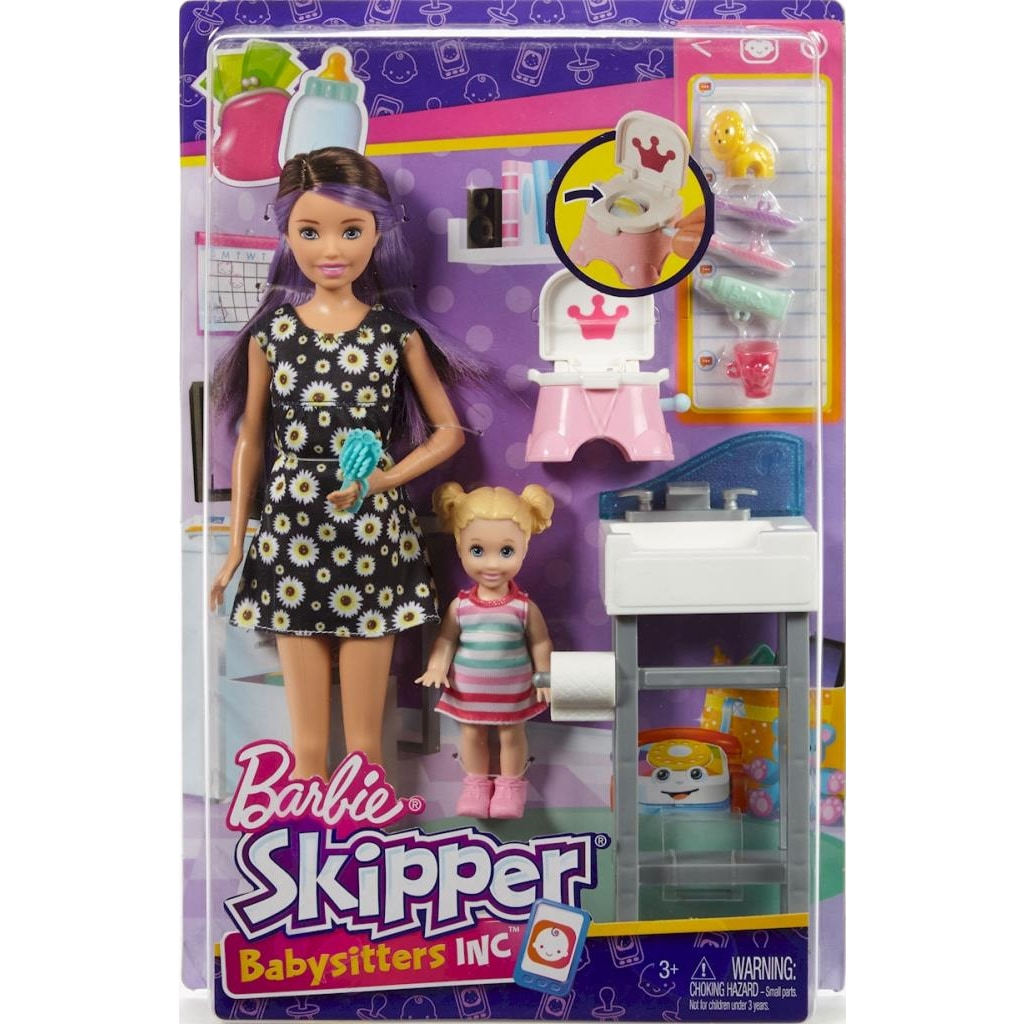 Barbie Bebek Bakıcılığı Oyun Seti Fhy97 Fjb01 N11com