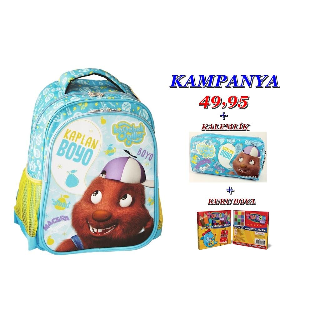 Köstebekgiller Boyo Okul çantası Seti Hediyeli N11com
