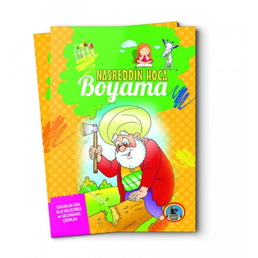 Nasreddin Hoca Boyama 128 Sayfa 19x27 N11com